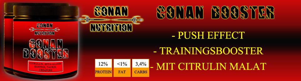 Banner Conan Nutrition conan booster