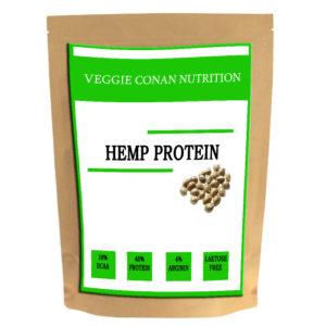 VEGGIE CONAN NUTRITION HEMP PROTEIN