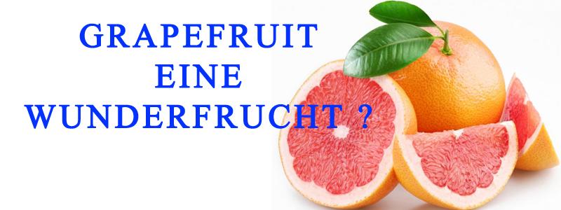 Grapefruit eine Wunder Frucht