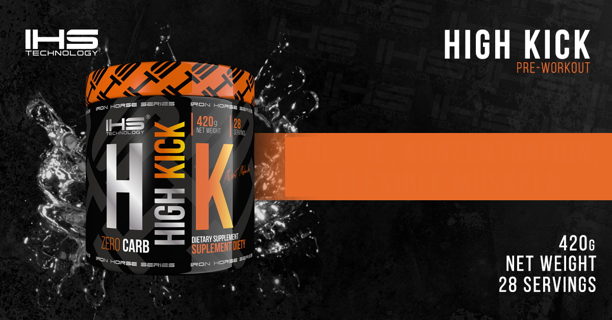 Iron Horse Series High Kick Banner