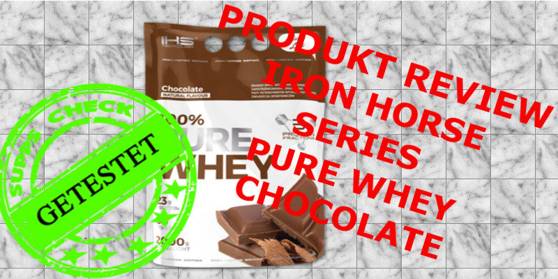 PRODUKT REVIEW PURE WHEY CHOCOLATE